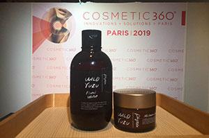 ルーブル美術館の地下で開催されたコスメの祭典「cosmetics 360」に出展いたしました