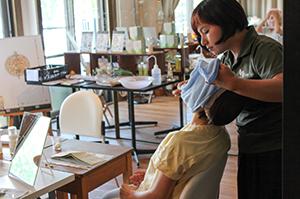 茨木市での「頭皮ケアレッスン」「虫除け&頭皮スプレー作り」(6月30日)