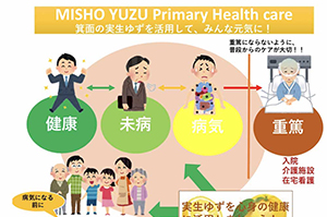 統合医療「社会モデル構想」〜日本古来からの実生ゆず未病ケアで元気に暮らす〜